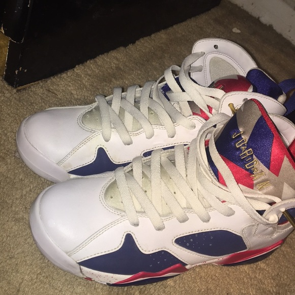 quality design 99d80 aa0dc Jordan Shoes - Jordan 7s (Olympic 7s) 2016